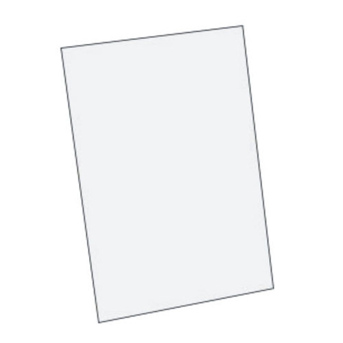 White Metal Sheet A4 (Aluminium)DS-701