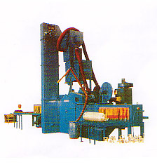 C2H2 Gas Jar Shot Blasting Machine