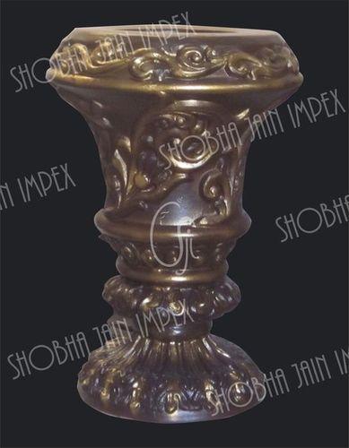 Carved Flower Pot