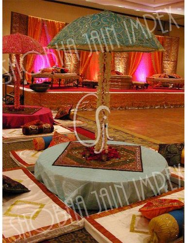 Hand Emroided Wedding Umbrella