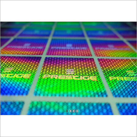 Holograms Stickers Label