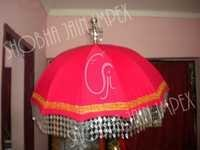 Plain Muthukuda Wedding Umbrella