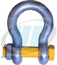 Gr-80 Alloy Steel Nut Bolt Type Bow Shackles