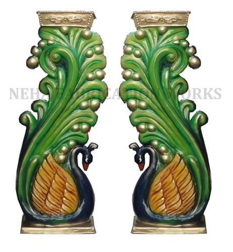 Peacock Fibre Pillar