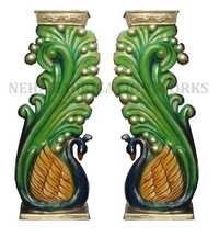 Decoration Piller (Peacock)