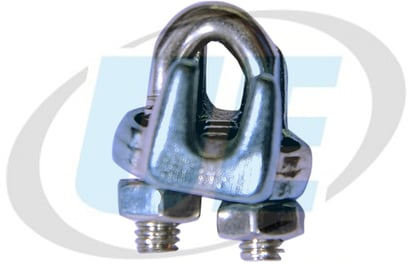 Strong Forged Grip - Bulldog Grip - Wire Rope Clamp S S