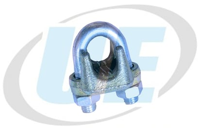 Easy To Operate Forged Grip - Bulldog Grip - Wire Rope Clamp Big Jaw