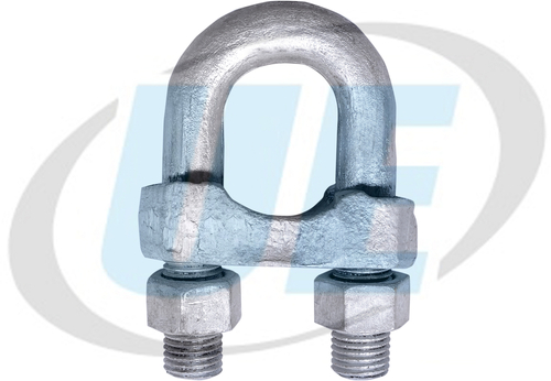 FORGED GRIP - BULLDOG GRIP - WIRE ROPE CLAMP GALVANISED