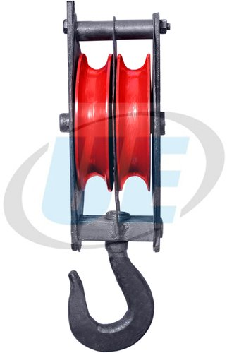 Strong Manila Rope Pulley Block Double Sheeve
