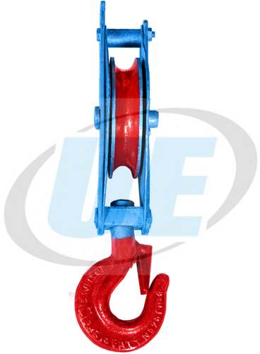 MANILA ROPE PULLEY BLOCK SINGLE SHEAVE