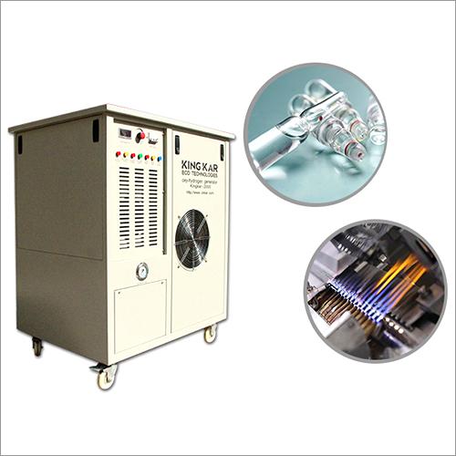Oxy Hydrogen Flame Ampoule Sealing Machine