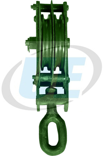 WIRE ROPE PULLEY BLOCK DOUBLE SHEEVE