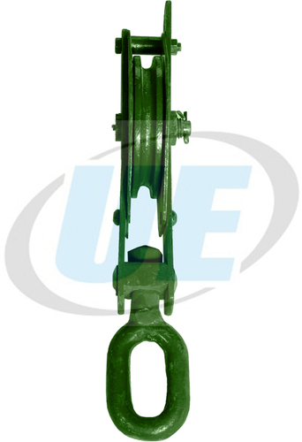WIRE ROPE PULLEY BLOCK SINGLE SHEEVE