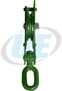Wire Rope Pulley Block Single Sheave