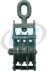 Wire Rope Pulley Block Tripple Sheeve