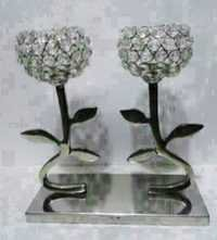 2 LEAVES Candle Stand