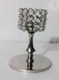 Table Decoration Crystal Candle Stand