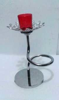 Red Candle Holder