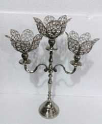 3 Lotus T-LIGHT CANDLE STAND