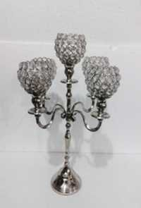 5 Crystal Ball T-LIGHT CANDLE STAND