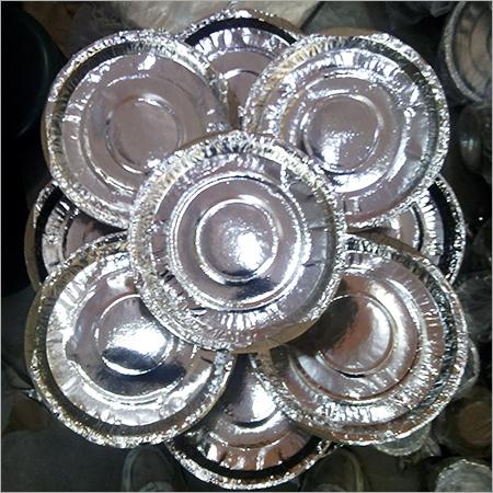 Silver Paper Thali