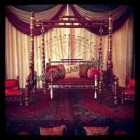 Wooden Wedding Jhulla