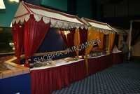 Fabric Canopy Food Stall