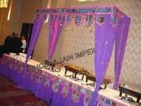 Drapes on Food Stall