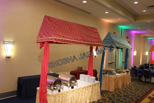 Embroided Food Canopy
