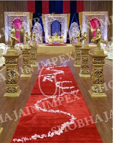 Side Mehraap Wedding Stage