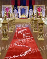 Traditional Mehraap Wedding Stage