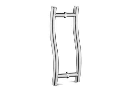 S Type Glass Door Handle