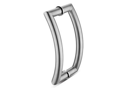 C Type Glass Door Handle