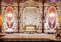 Fiber Pannel Wedding Stage