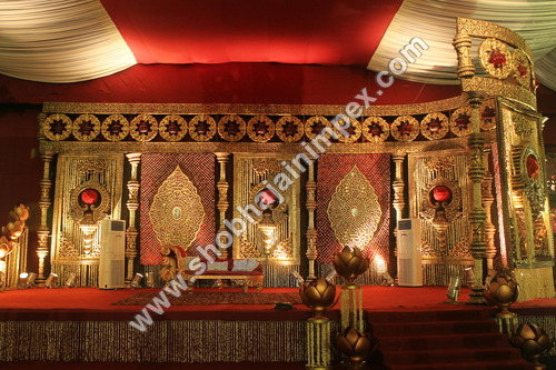 Jewel Theme Wedding Stage
