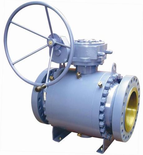 Trunnion valves