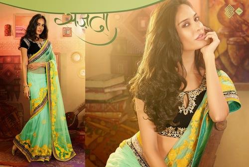 Modern Fancy Saree