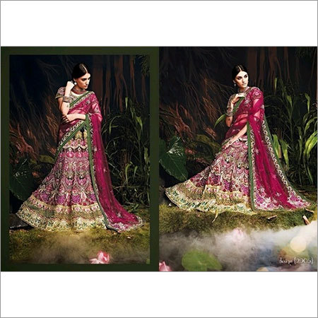 Designer Heavy Embroidered Bridal Lehenga Choli