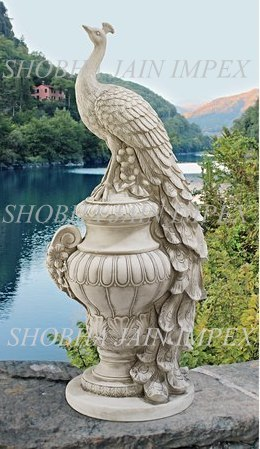 Decorative Peacock Prop
