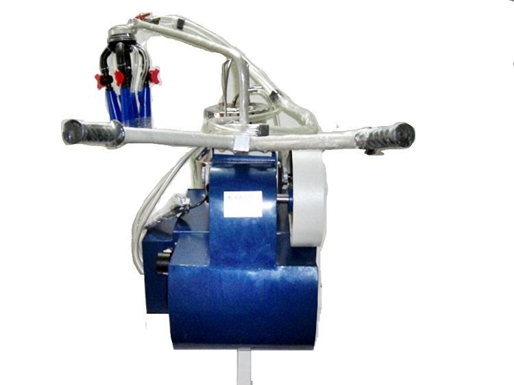 Motorized Single Bucket Milking Machine