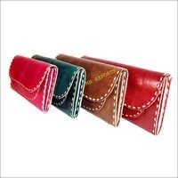 Handmade ladies Leather Wallet