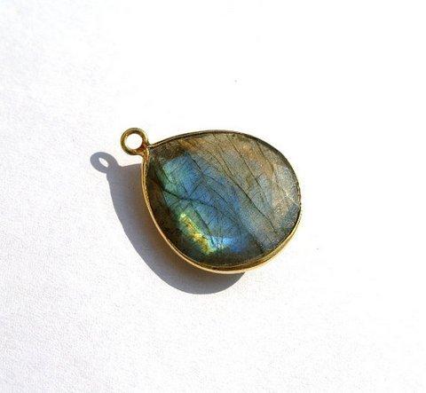 Labradorite Gemstone Connector