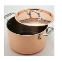Copper Sauce Pot With Lid