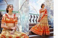 Indian Designer Bollywood Replica Wedding Lehenga Choli Net 3207