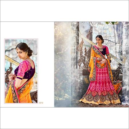 Indian Wedding designer Multicolor Lehenga 3212