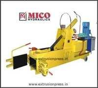Single Action Scrap Baling Press