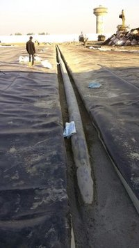 HDPE Sheet Laying