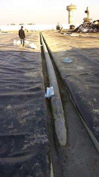 HDPE Sheet Laying