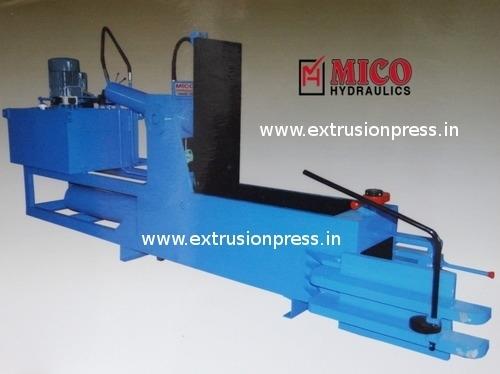 Double Compression Metal Scrap Baling Press
