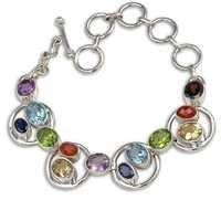 Gemstone Chakra Bracelete